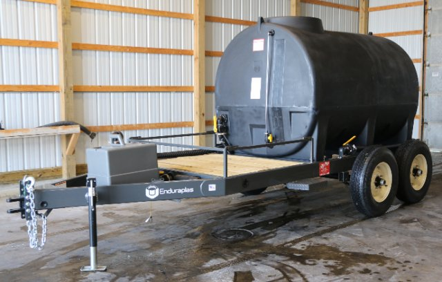 1,000 gallon Nurse Trailer, Enduraplas, Ag Style, Fertilizer tank